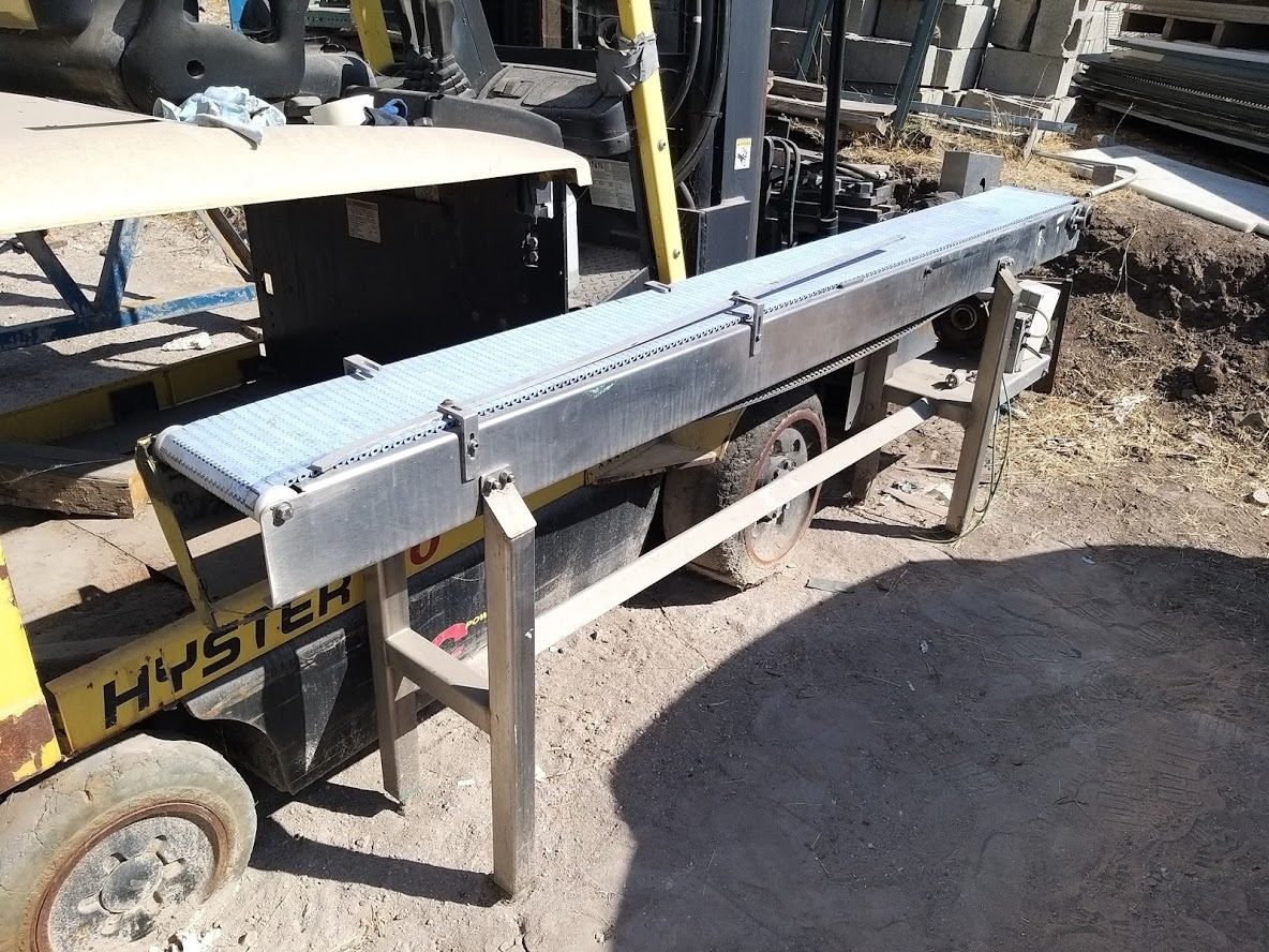Belt Conveyor System 7.75 in x 95.5 in