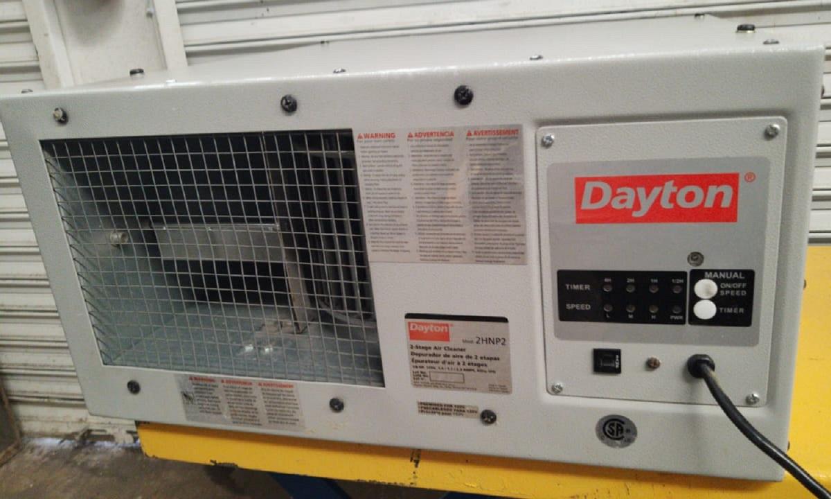 2-Stage Air Cleaner 2HNP2 Dayton