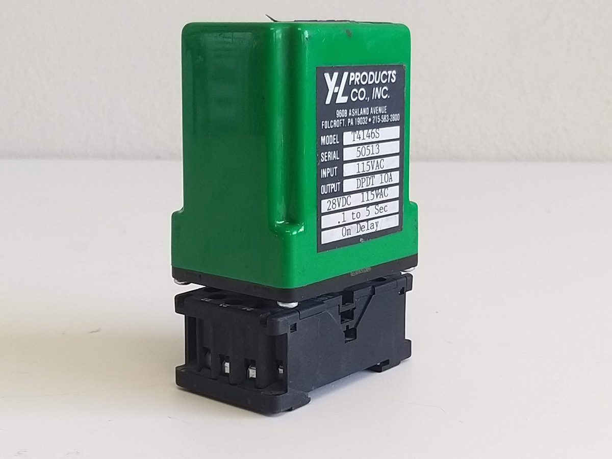 Time Off Delay Relay T4146S Y-L Products Base AB