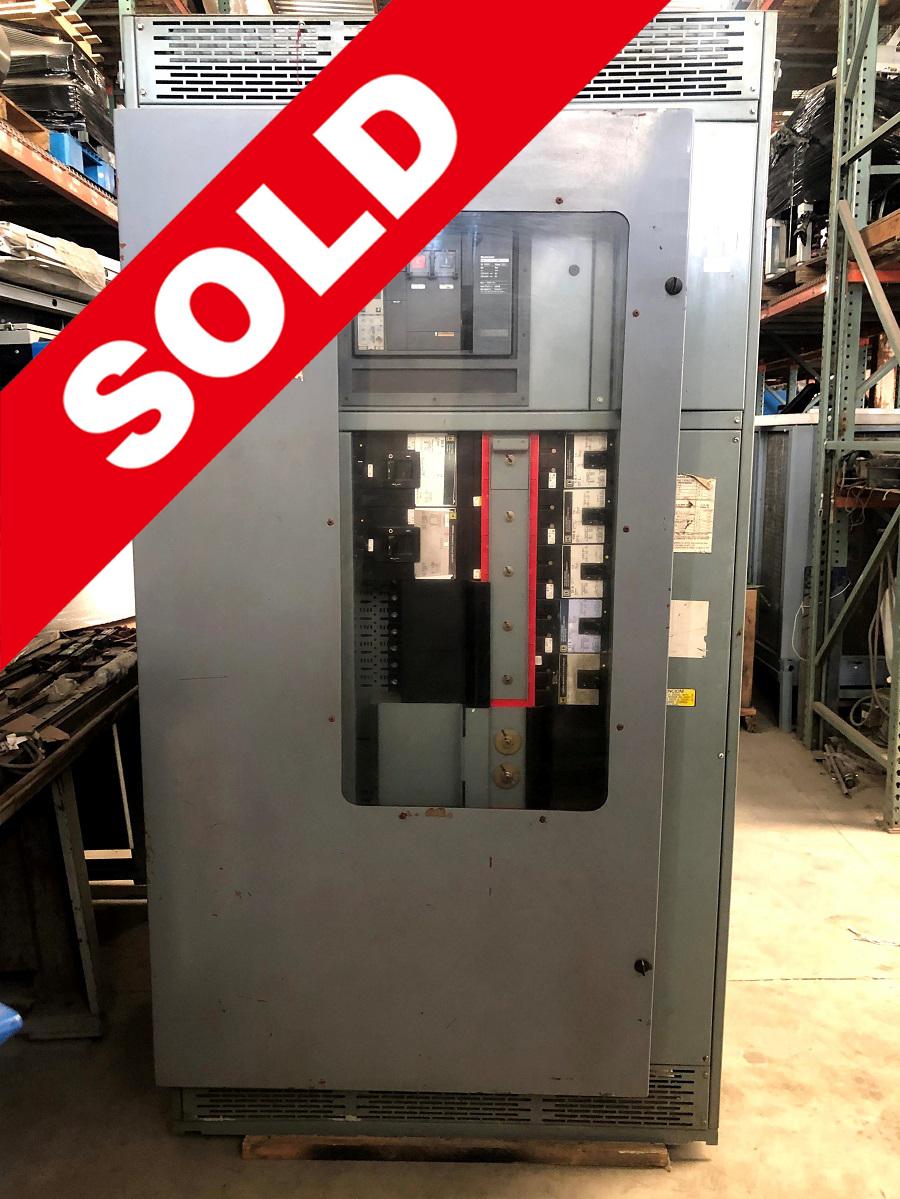 Panelboard QD Logic QDCF122W Square D 1200 Amp